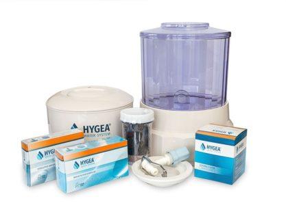 Hygea Water System е лесна за сглобяване