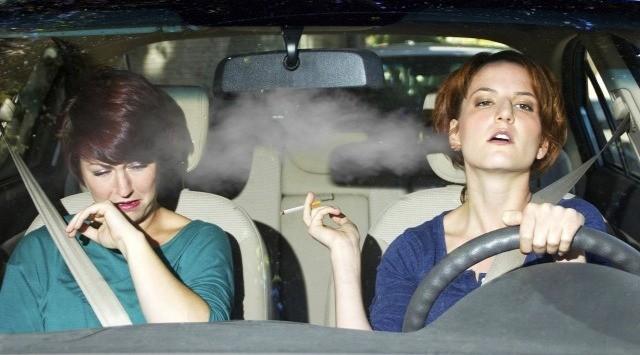 Hygea Air Car Purifier ефективно пречиства от цигарени дим ид други неприятни миризми