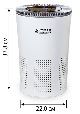 Размери на Hygea Air Home Purifier