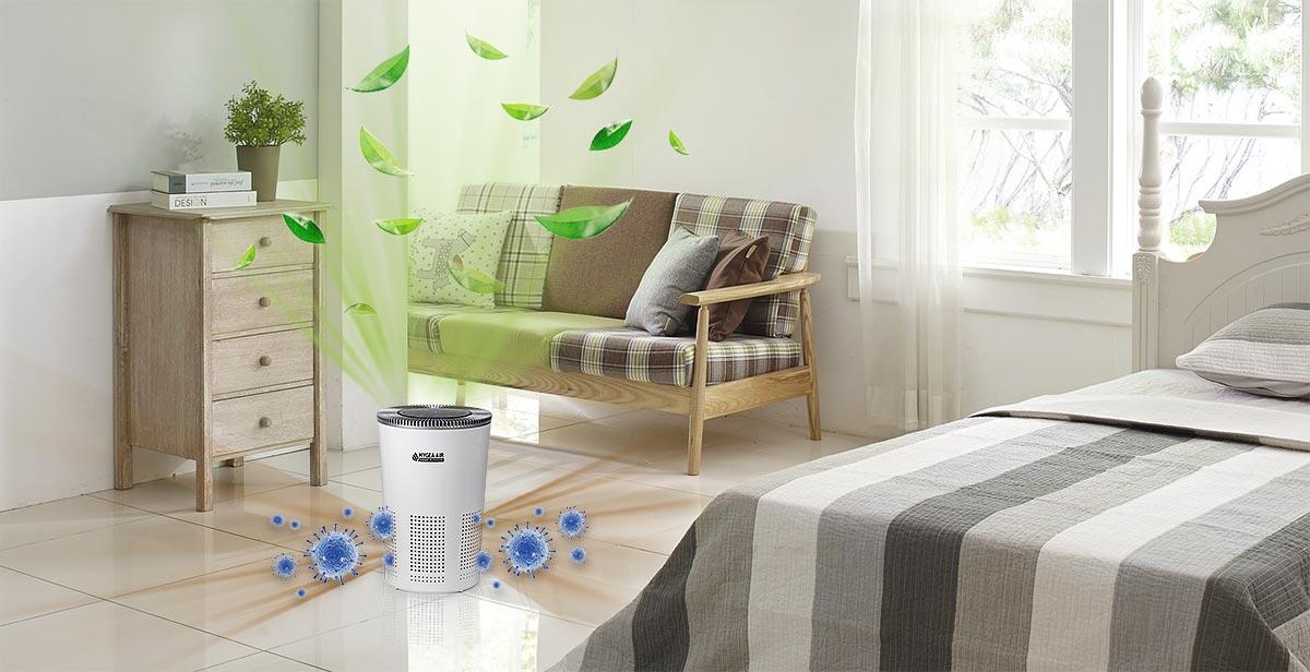Hygea air home елиминира опасни вируси и бактерии