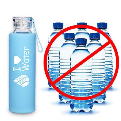Предимиствата на стъкленото шише Hygea Water пред пластмасовите бутилки