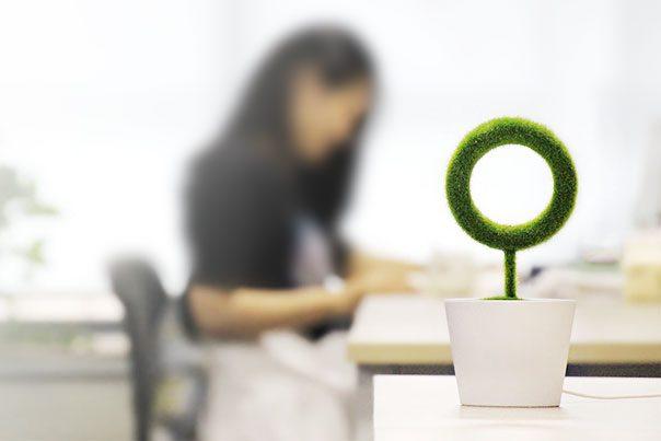 Hygea Air Desktop е стилна декорация за вашето работно място