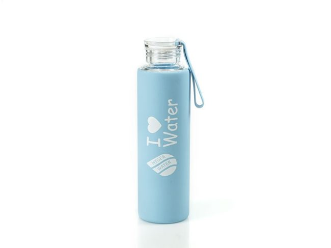Бутилка Hygea Water - СиняБутилка Hygea Water - Розова - 550мл