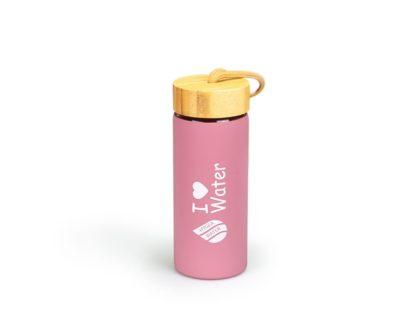 Бутилка Hygea Water 450мл, Цвят Розов