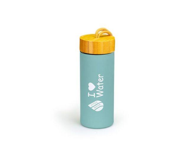 Бутилка Hygea Water 450мл, Цвят Тюркоаз