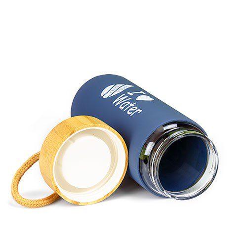 Специално проектирана капачка не позволява протичане на бутилката
