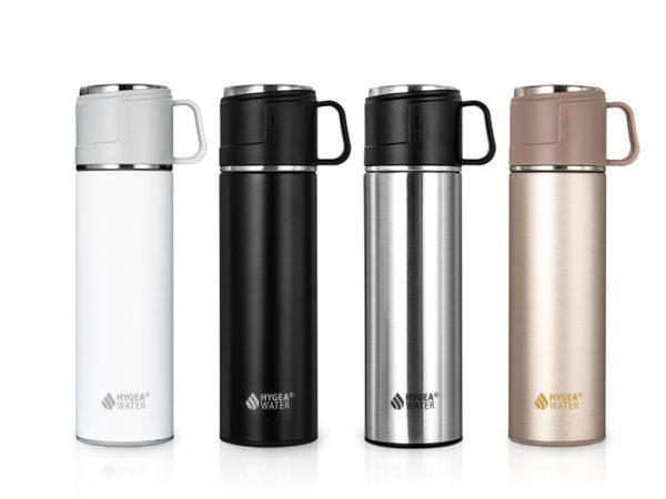 Избери цвят и поръчай твоя термос с чаша Hygea Water