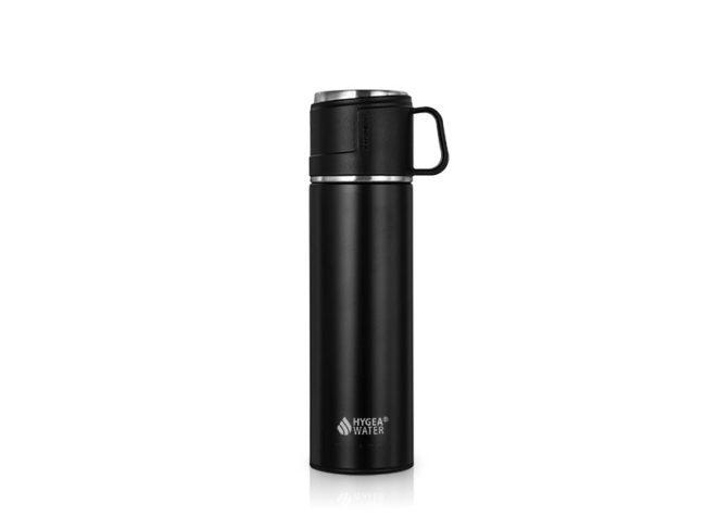 Термо бутилка Hygea Water цвят Черен - 400мл.